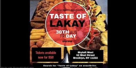 Taste of Lakay tickets