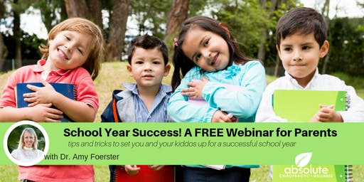 School Year Success! A FREE Webinar for Parents
