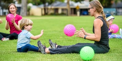 Mums, Tots and Bubs Exercise - October to December 2019