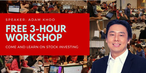 FREE 3-hour Stock Investing Introductory Workshop