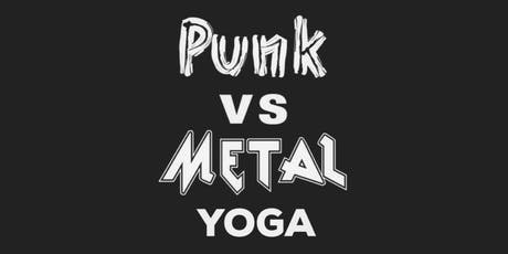 Punk vs. Metal Yoga & Beer! tickets