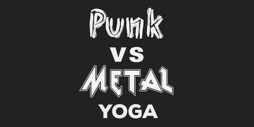 Punk vs. Metal Yoga & Beer!