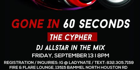 Gone In 60 Seconds- The Cypher tickets