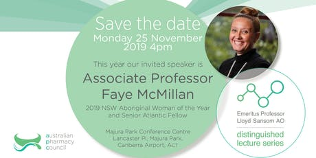 Emeritus Professor Lloyd Sansom, AO, Distinguished Lecture Series 2019 tickets