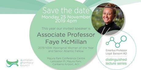 Emeritus Professor Lloyd Sansom, AO, Distinguished Lecture Series 2019 tickets