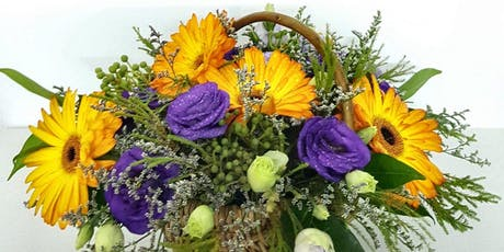 Novena: Flower Basket Arrangement - Sep 7 (Sat) 3pm - 5pm tickets