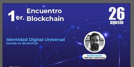 Identidad Digital Soberana basada en Blockchain entradas