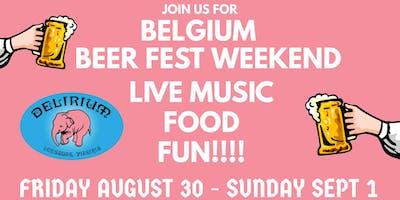 Labor Day Weekend Belgium Beer Fest