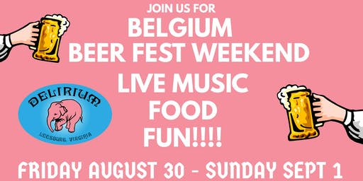 Labor Day Weekend Belgium Beer Fest