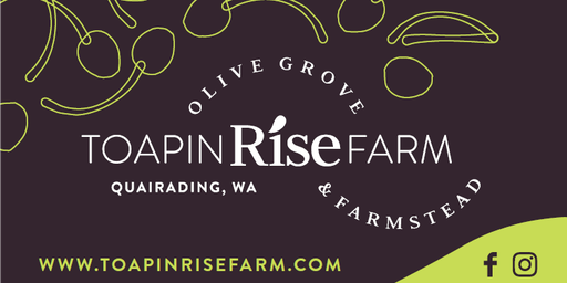 Toapin Rise Farm- 21st September Tour & Tastings