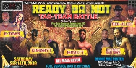READY OR NOT  (Tag Team Battle) tickets