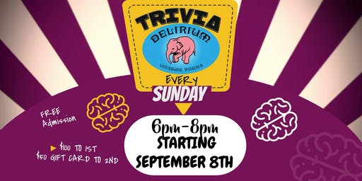 $100 Trivia Contest Sundays