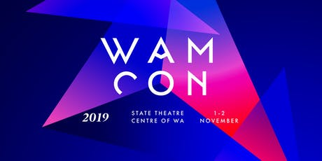 WAMCon 2019 tickets