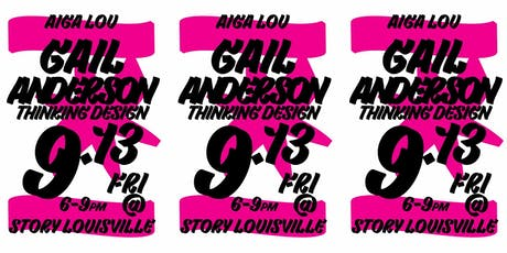 AIGALou Design Week 19: Gail Anderson tickets