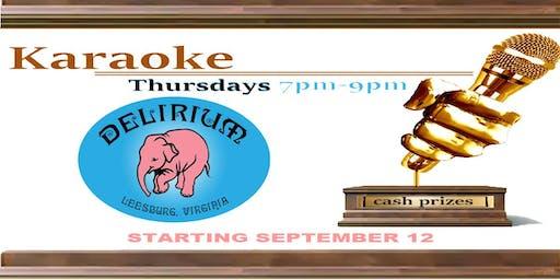 Karaoke Contest Thursdays