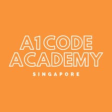 A1 Code Academy is Singapore's leading kid's training and enrichment centre logo