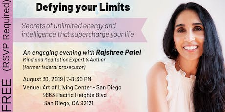 Defying your Limits - An Engaging Evening with Rajshree Patel tickets