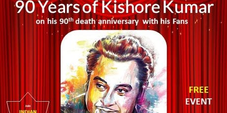 90 Years of Kishore Kumar tickets