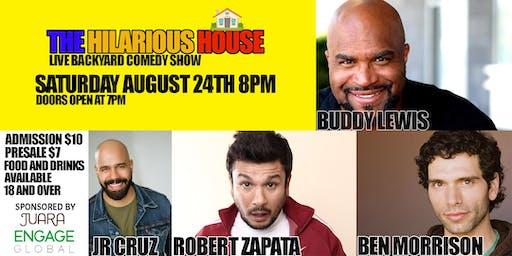 The Hilarious House  Live Backyard Comedy Show