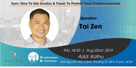 How To Use Exodus & Trezor To Protect Your Cryptocurrencies tickets