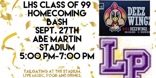 Lufkin High School Class of 99 Homecoming Bash