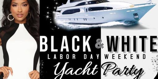 Labor Day Weekend Black & White Yacht Party