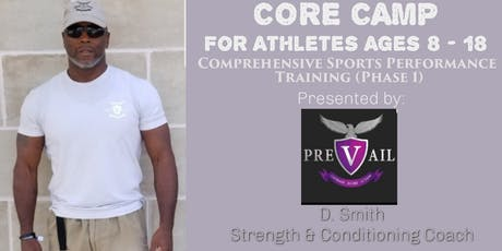 PREVAIL Fitness & Performance: Core Camp 09/07/19 - 11/3/19 tickets