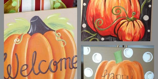 Pumpkins, Paint, and Pints