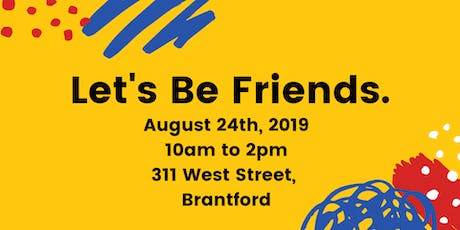 Let's Be Friends tickets
