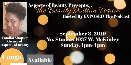 Aspects of Beauty Presents: The Beauty Within Forum