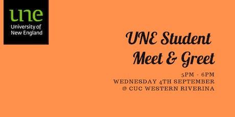 UNE Student Meet & Greet tickets