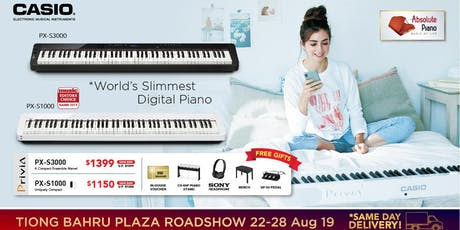 Casio Music Roadshow @ Tiong Bahru Plaza - Digital Piano, Keyboards & More tickets