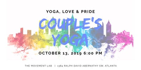 Yoga, Love & Pride: A Yoga + Meditation Practice Curated for LGBTQ couples tickets
