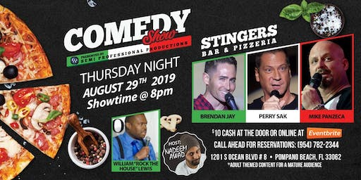 Stingers Stand Up Comedy Show!