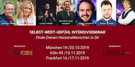 Das 2-Tage SELBST-WERT-GEFÜHL INTENSIVSEMINAR in KÖLN Tickets