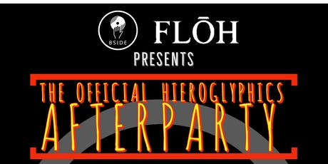 Hieroglyphics After Party with DJ Nuera Presented by FLOH Vodka tickets