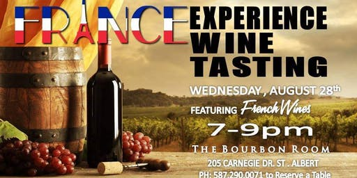French Experience Wine Tasting