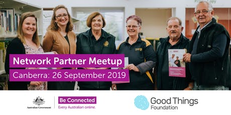 Be Connected Network Partner Meetup - Canberra tickets