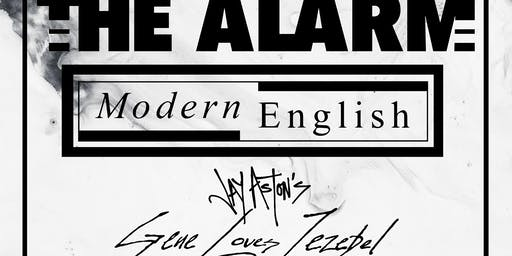 THE ALARM + MODERN ENGLISH + Jay Ashton's GENE LOVES JEZEBEL