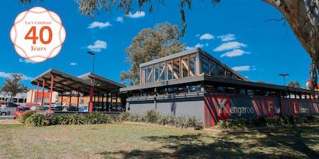 Kangaroo Flat Library turns 40! tickets
