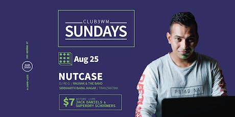 Club3wm Sundays ft. DJ NUTCASE tickets