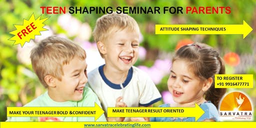 TEEN SHAPING Seminar (for parents)