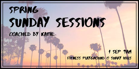 SPRING SUNDAY SESSIONS tickets