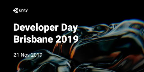 Unity Developer Day : Brisbane 2019 tickets