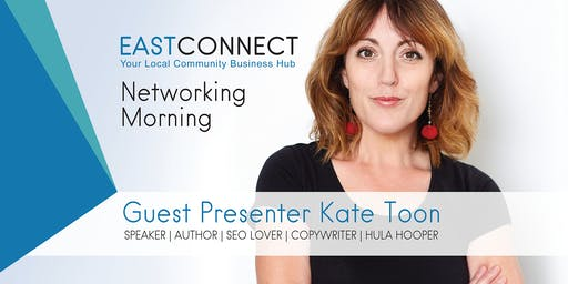 East Connect Networking Open Day - Guest Speaker Kate Toon