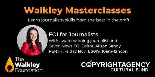 Walkley Masterclass: FOI for Journalists