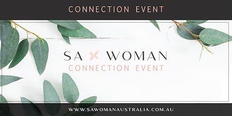 SA Woman (Glenelg) coffee connection  tickets