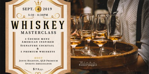 Whiskey Masterclass