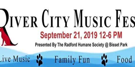 River City Music Fest Presented by Radford Humane Society tickets
