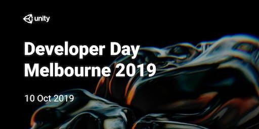 Unity Developer Day : Melbourne 2019